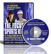 The Focused Sports Kid CD