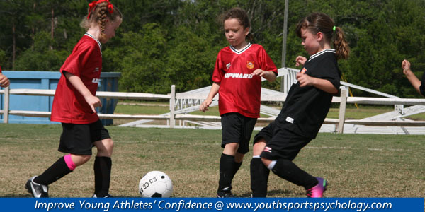 taking practice confidence to games in youth sports